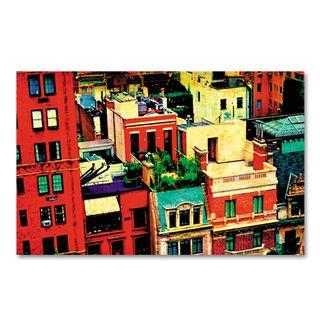 Susan-levin-digital-art-rooftops-view1