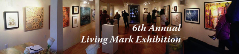 6th annual living mark exhibition