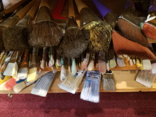 CA Paint Brushes