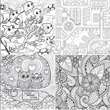 AD Coloring Pages